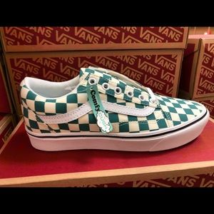 Vans Old Skool Counfy Cush Checkerboard Shoes